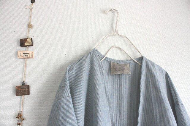 大人の羽織りシャツワンピースの画像1枚目