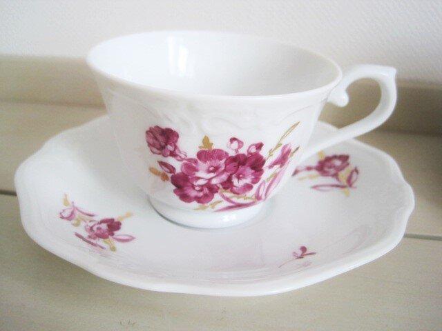 桜草のカップ&ソーサーの画像1枚目