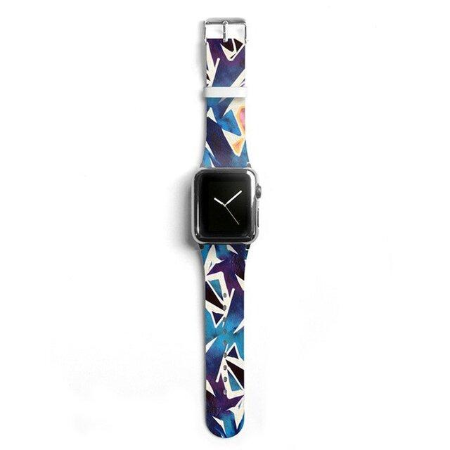 本革☆Apple Watch アップルウォッチ バンド ファッション ベルト 交換 ベルト 017の画像1枚目