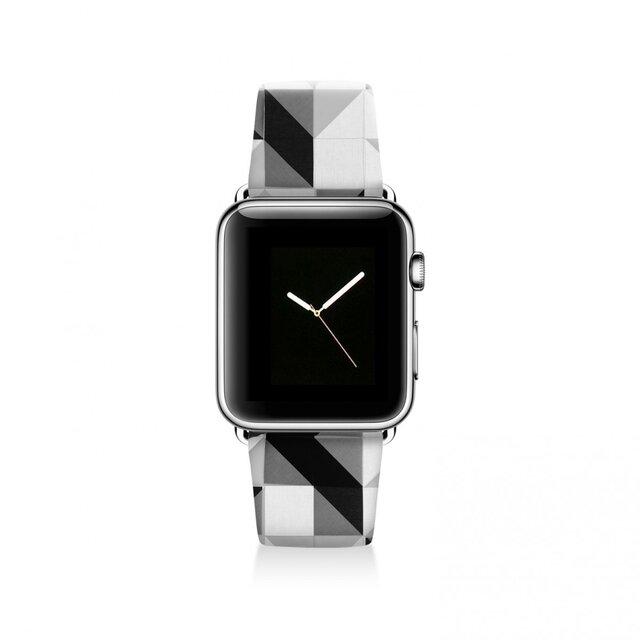 本革☆Apple Watch アップルウォッチ バンド ファッション ベルト 交換 ベルト 047の画像1枚目