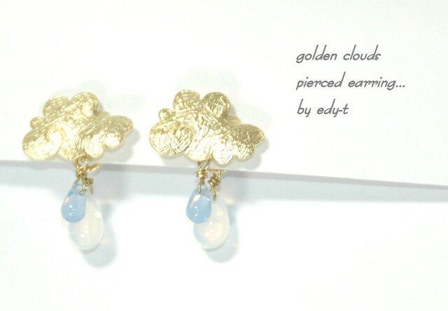 edy-t■golden cloudsピアスの画像1枚目