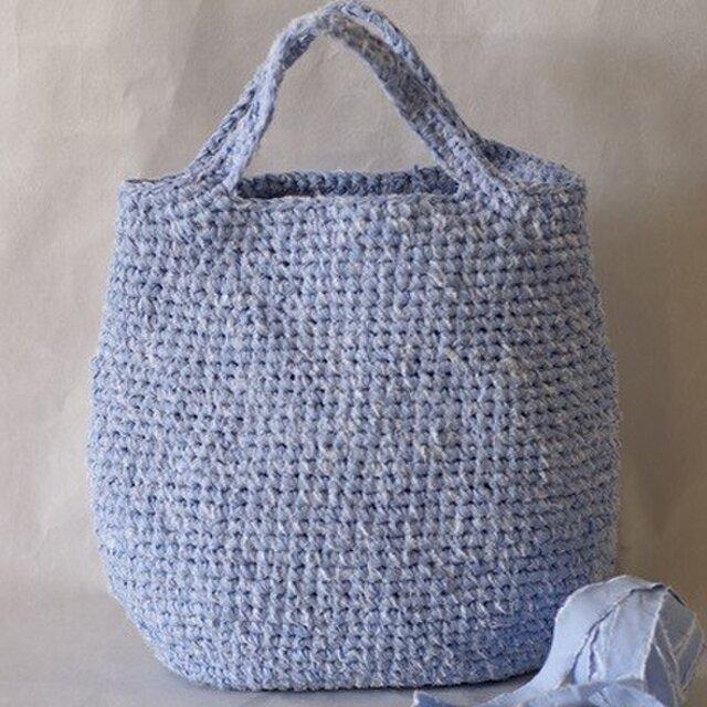裂き編みバッグ(トートバッグ)の画像1枚目