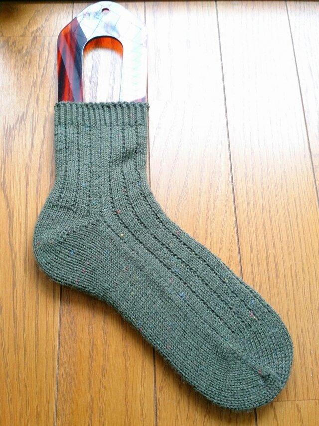 手編み靴下 schoppel Tweed 6271の画像1枚目
