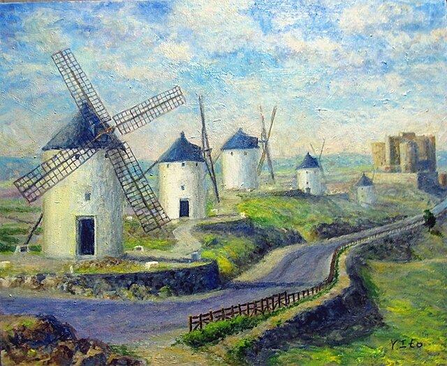 コンスエグラの風車の画像1枚目