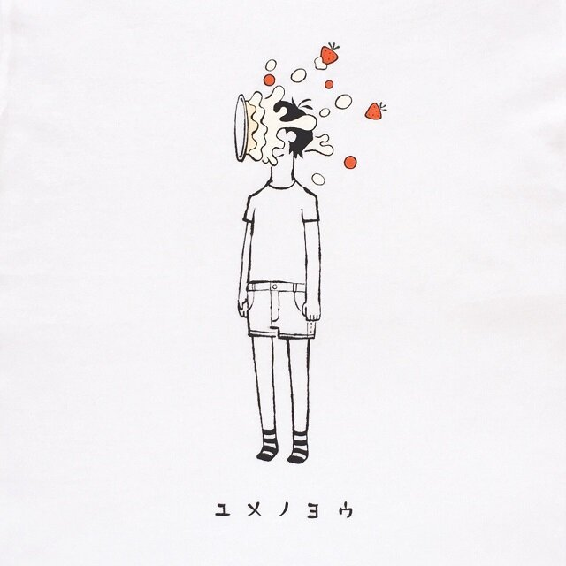 顔面ケーキ ボーイ 【 Tシャツ 】の画像1枚目