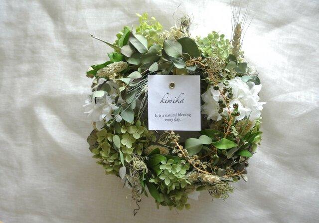 風と緑の輪舞曲wreathの画像1枚目