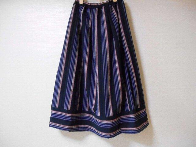しっかり木綿のスカートの画像1枚目