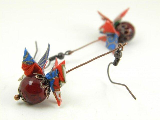 オリガミピアス・蝶(Papillon Y18BOP1DBr)の画像1枚目