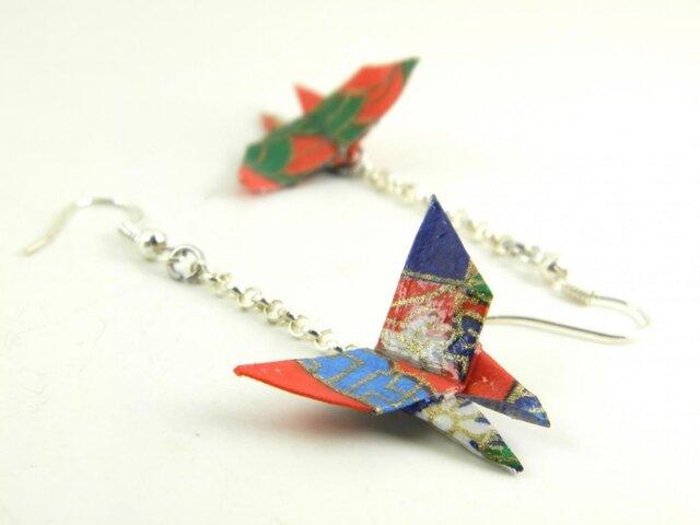 オリガミピアス・蝶(Papillon Y18BOP2JAr)の画像1枚目