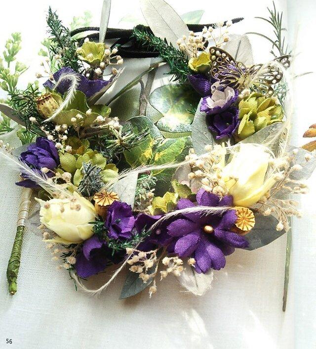 box入り mini wreath*butterflyの画像1枚目