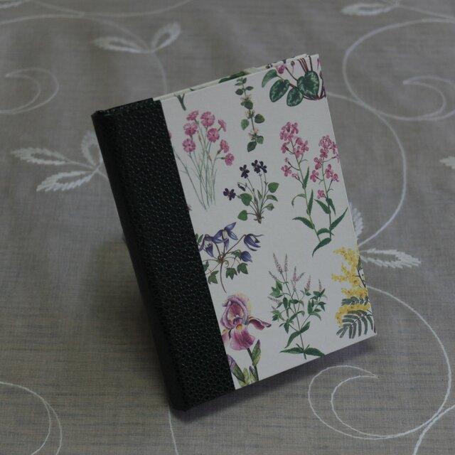 ★お名前入り★  my メモ帳ホルダー *野の花*の画像1枚目