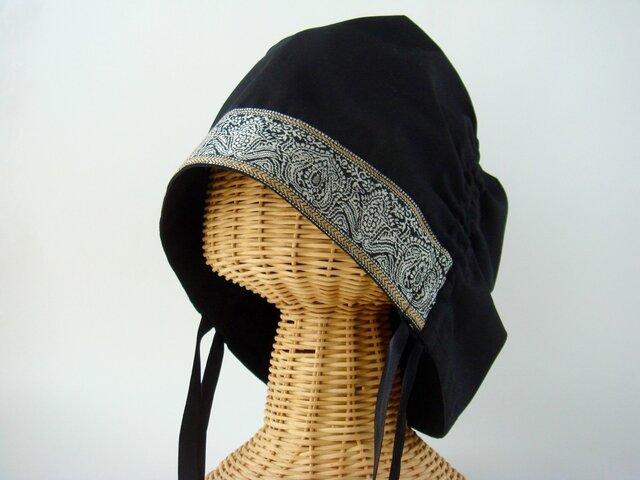 サイドギャザー帽子 02-SVの画像1枚目