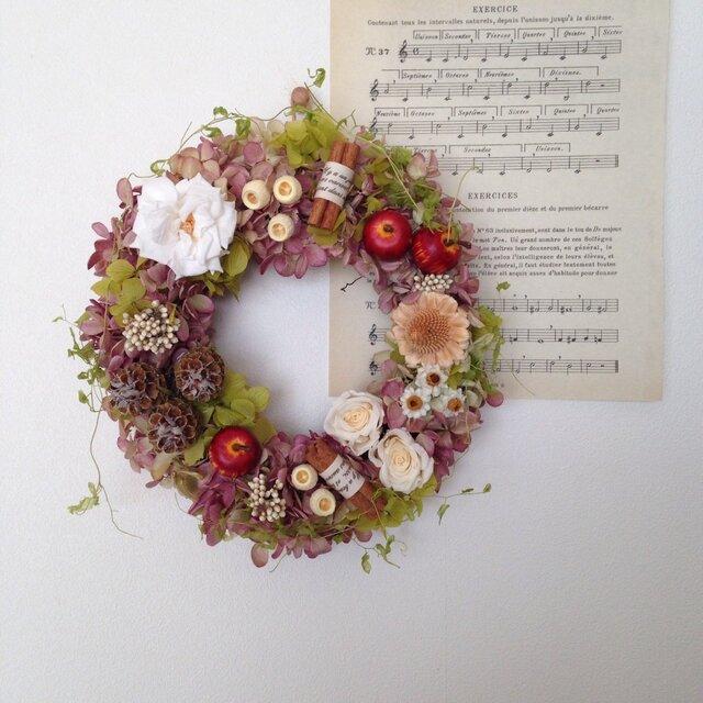 """wreath""""apple pie""""の画像1枚目"""