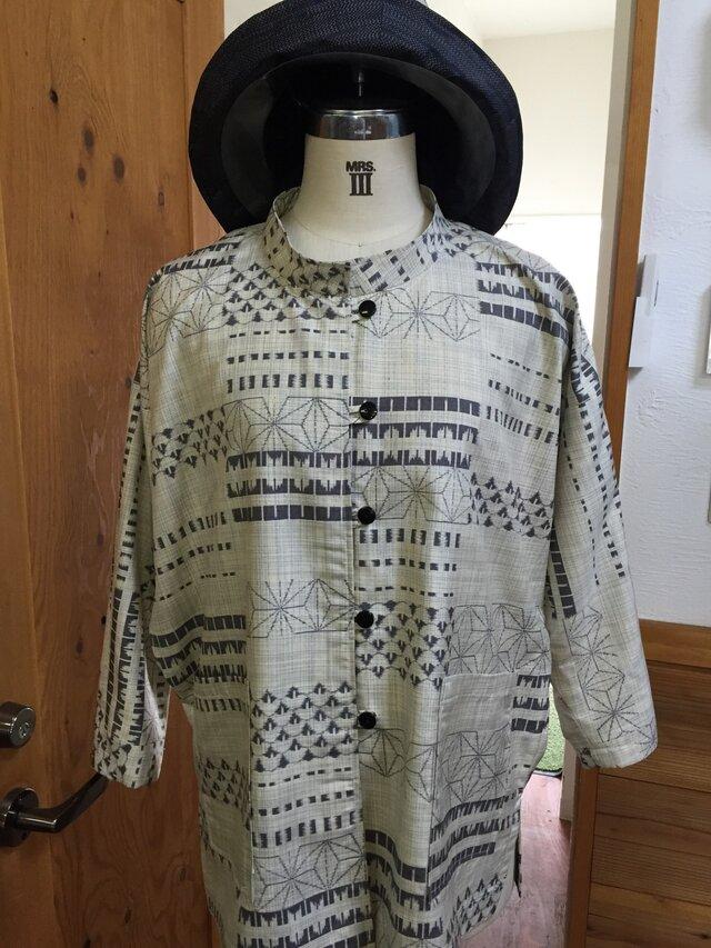 着物で作る*ブラウスの画像1枚目