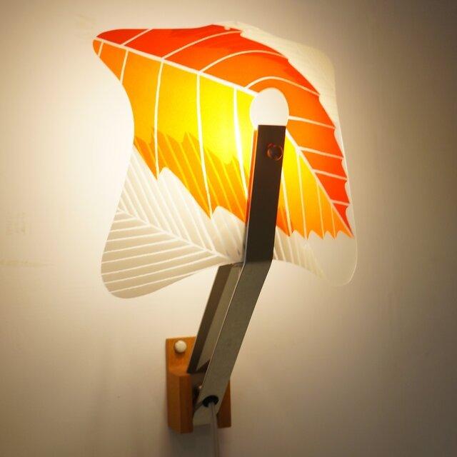 2Way Lamp バンドリ (レッドリーフ柄)の画像1枚目