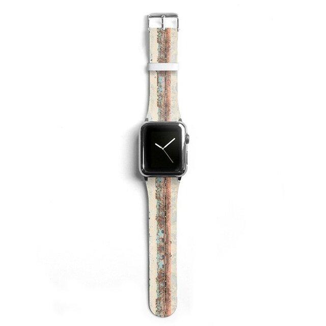 本革☆Apple Watch アップルウォッチ バンド ファッション ベルト 交換 ベルト 009の画像1枚目