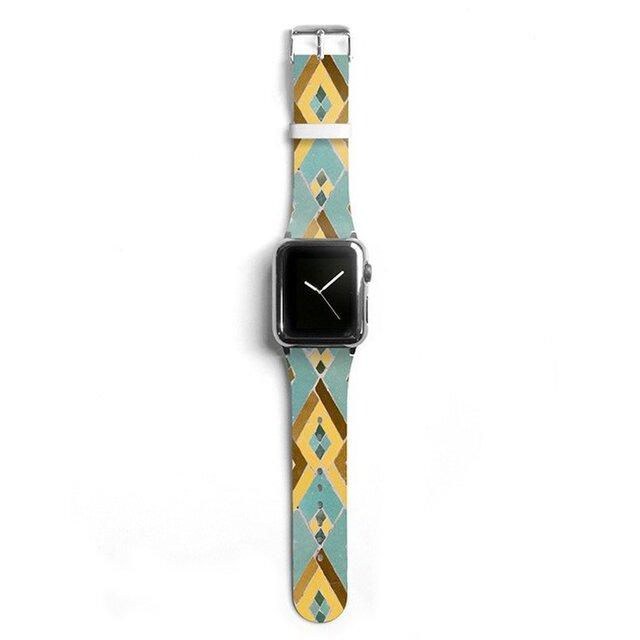 本革☆Apple Watch アップルウォッチ バンド ファッション ベルト 交換 ベルト 015の画像1枚目