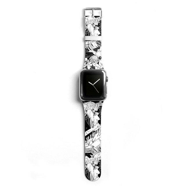 本革☆Apple Watch アップルウォッチ バンド ファッション ベルト 交換 ベルト 020の画像1枚目