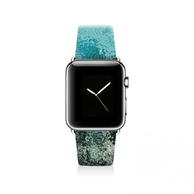 本革☆Apple Watch アップルウォッチ バンド ファッション ベルト 交換 ベルト 031の画像1枚目