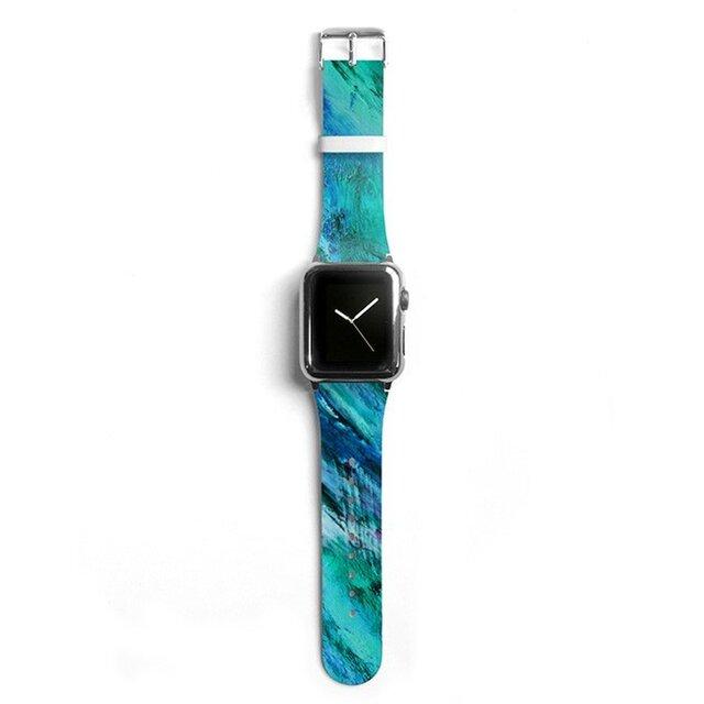 本革☆Apple Watch アップルウォッチ バンド ファッション ベルト 交換 ベルト 040の画像1枚目