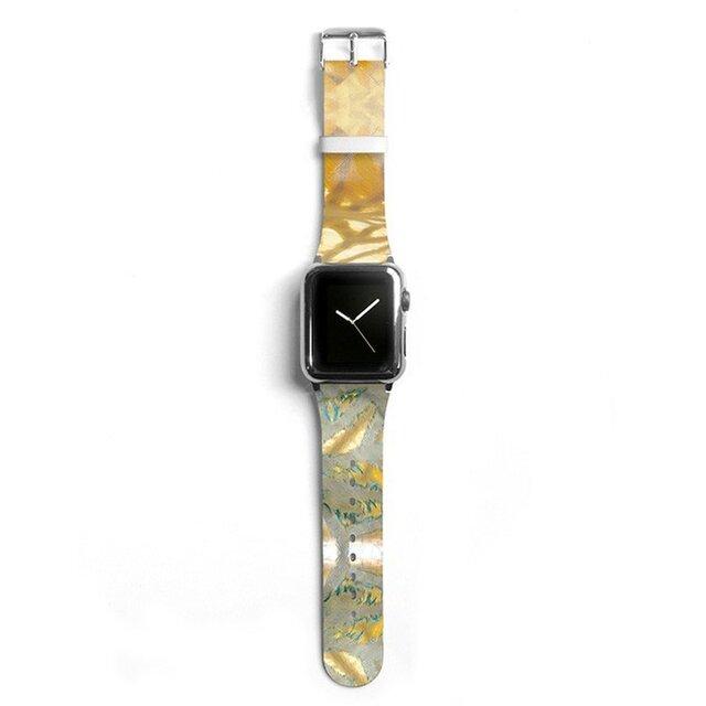本革☆Apple Watch アップルウォッチ バンド ファッション ベルト 交換 ベルト 044の画像1枚目