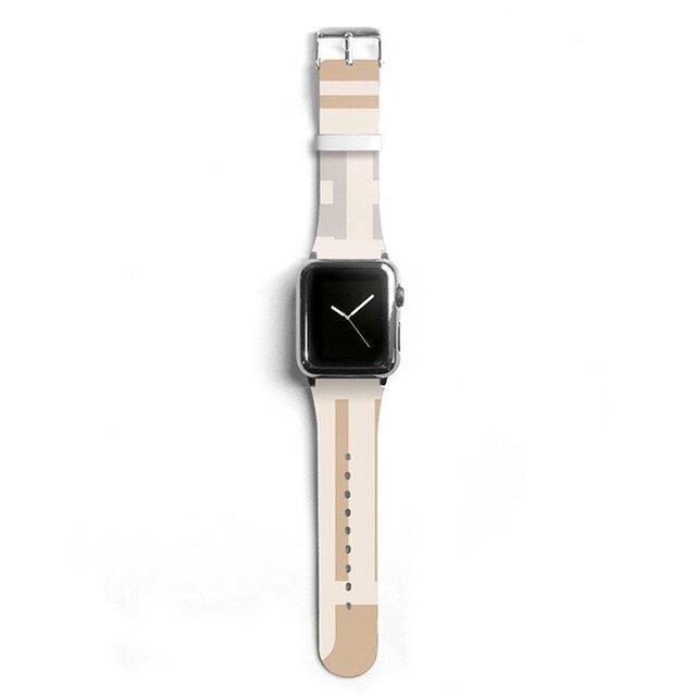 本革☆Apple Watch アップルウォッチ バンド ファッション ベルト 交換 ベルト 045の画像1枚目