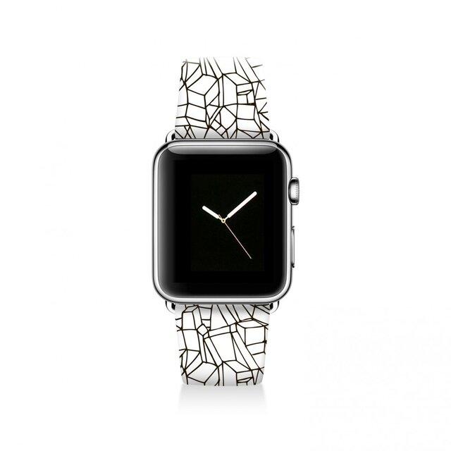 本革☆Apple Watch アップルウォッチ バンド ファッション ベルト 交換 ベルト 046の画像1枚目