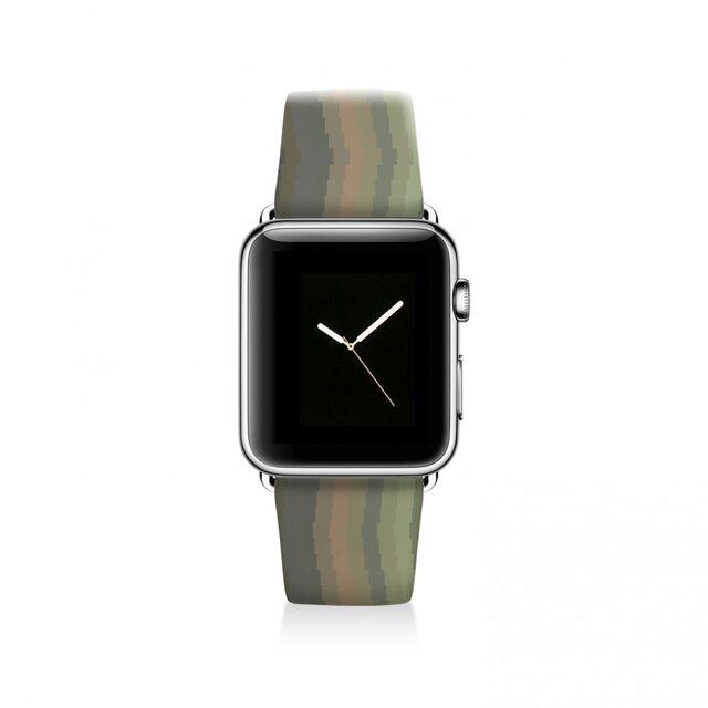 本革☆Apple Watch アップルウォッチ バンド ファッション ベルト 交換 ベルト 049の画像1枚目