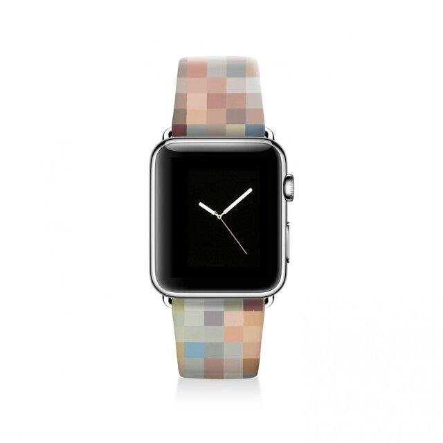 本革☆Apple Watch アップルウォッチ バンド ファッション ベルト 交換 ベルト 050の画像1枚目