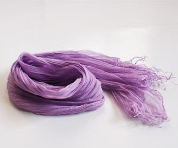 シルク コットン shawlの画像1枚目