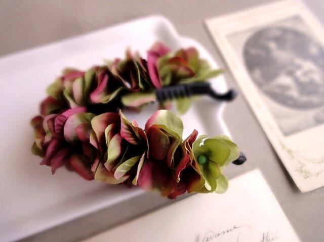 バナナクリップ■紫陽花の花びら■G×Rの画像1枚目