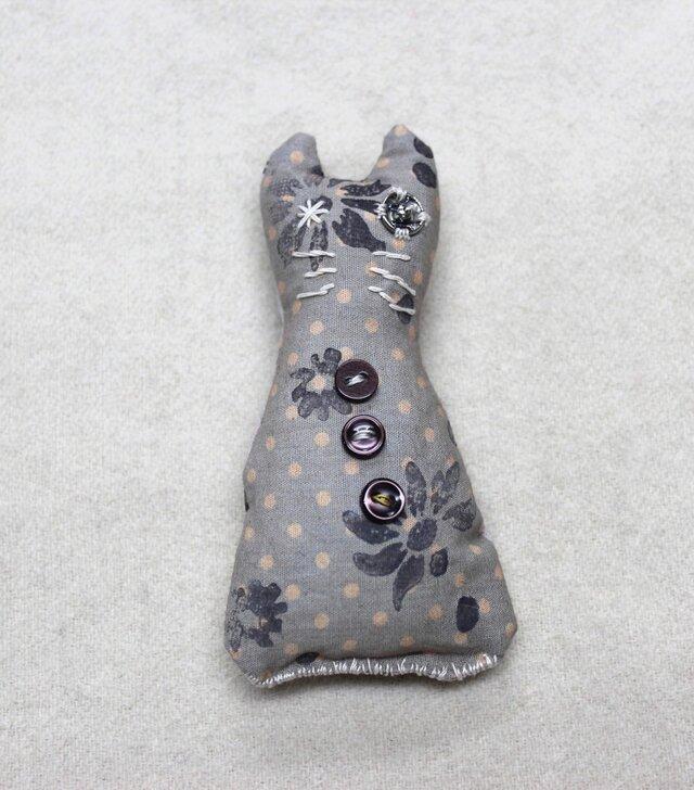 猫ストールピン ライトブルーの画像1枚目