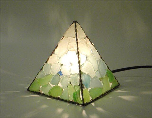 ピラミッドランプ S四面 No.17の画像1枚目