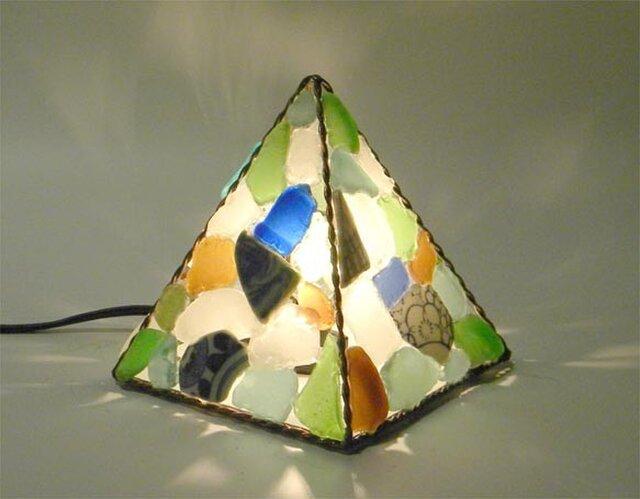 ピラミッドランプ S四面 No.16の画像1枚目