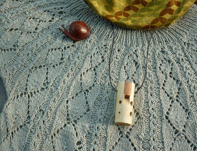みかんの木のオカリナドレミかん笛 ソプラノ菅C管の画像1枚目
