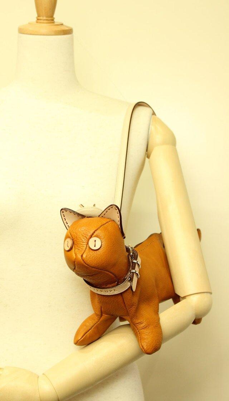 猫ショルダー バッグ Kitten Shoulder マスタードの画像1枚目