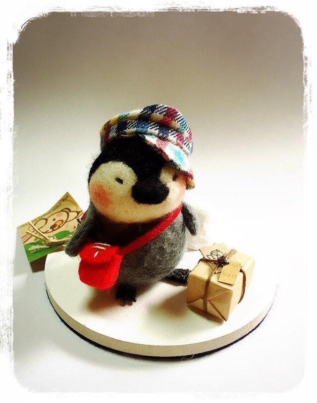 nanoko様専用 ペンギンの郵便屋さんの画像1枚目