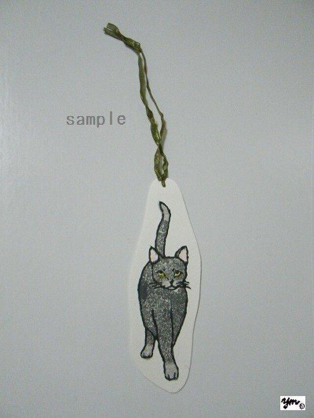 しおり〈cat②-2〉の画像1枚目