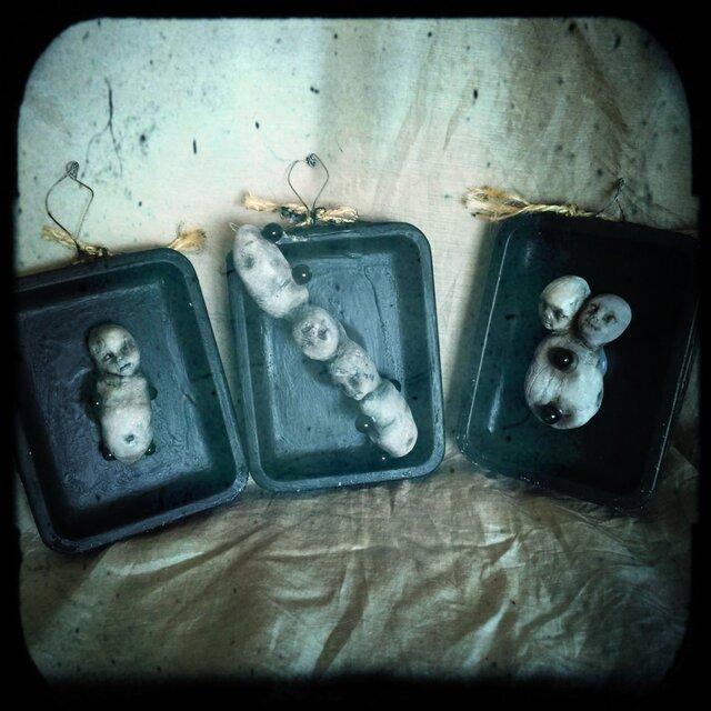 双生児ミニ壁掛けセットAの画像1枚目