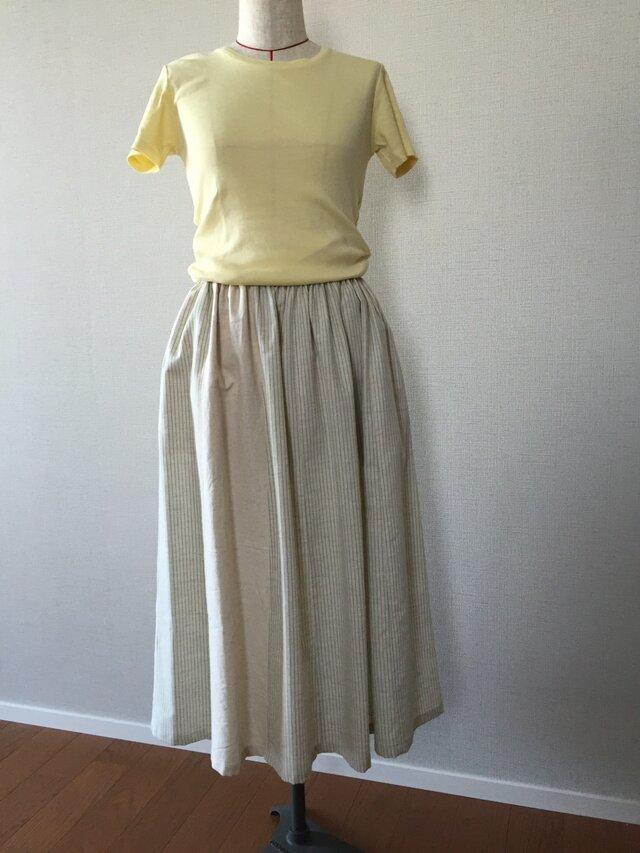 別布切替がある12枚ハギのスカートの画像1枚目