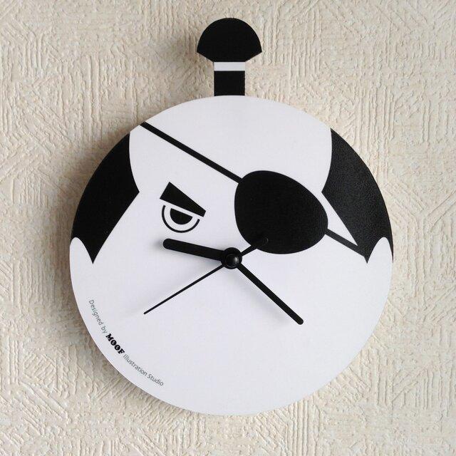 Wall Clock type2 _Samuraiの画像1枚目