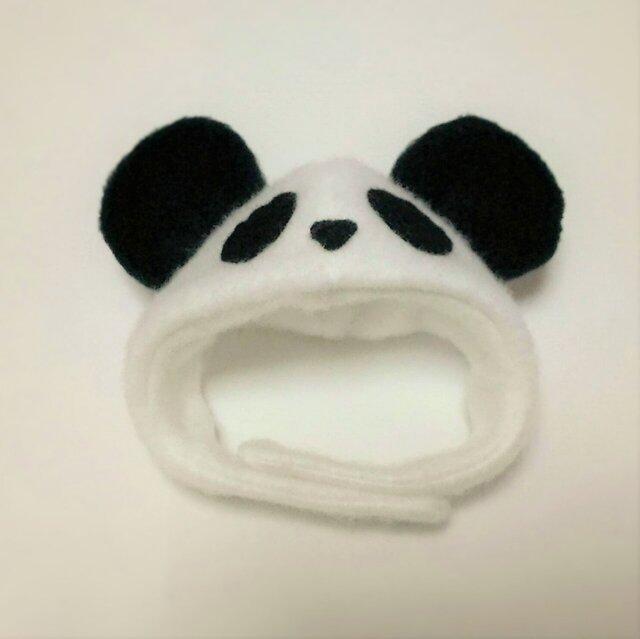 パンダのかぶりもの(帽子)【S/M/L】の画像1枚目
