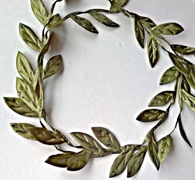 【オリーブ(平和の象徴)の ネックレス】の画像1枚目