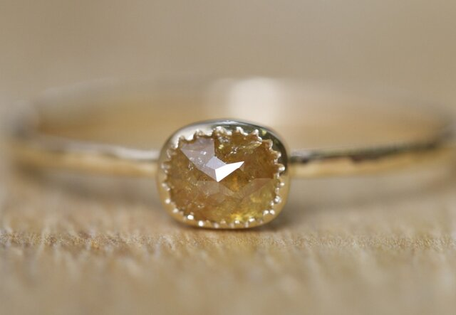 Honey Diamond Ringの画像1枚目