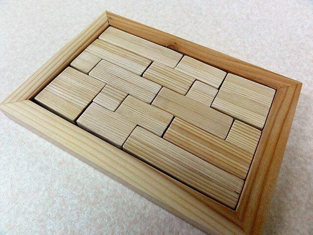 木製パズル(10ピース)の画像1枚目