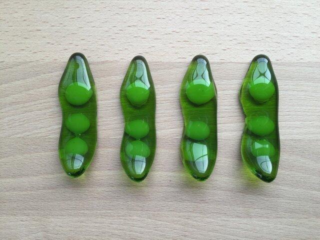 枝豆のお箸置きの画像1枚目