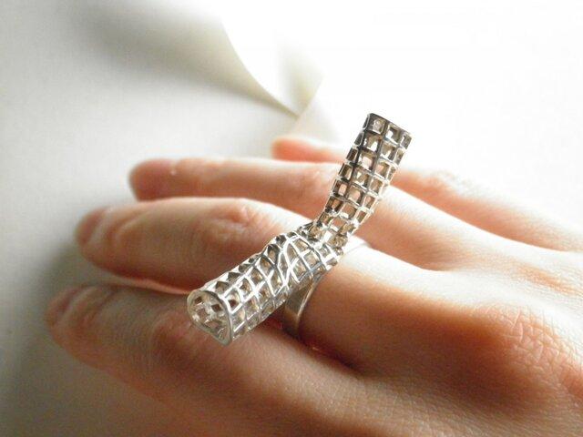 リボン リング/Ribbon Sterling Silver Ringの画像1枚目