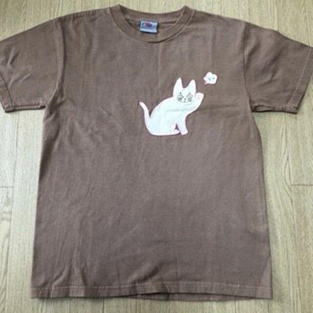 『よっ』の猫Tシャツの画像1枚目