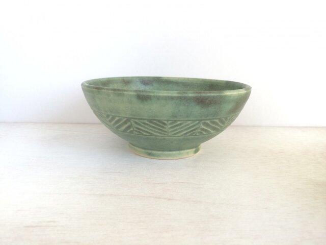 しのぎ模様の茶碗の画像1枚目