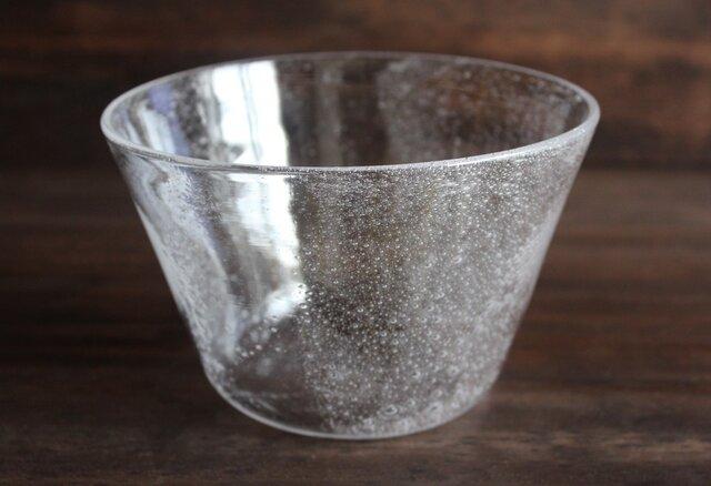小さな泡の鉢 大きめの画像1枚目